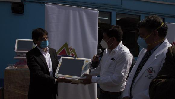 Cusco: Diresa recibió donativo de modernos equipos biomédicos valorizados en 242 mil soles