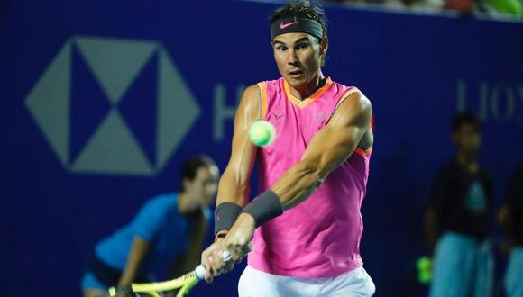 Nadal venció a Zverev en su debut en el ATP de Acapulco. (Foto: AP)