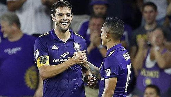 Yotún y Kaká coincidieron en Orlando City en la temporada 2017. (Foto: Orlando City)