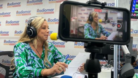 Sofía Franco regresó a la conducción radial. (Foto: Radiomar)