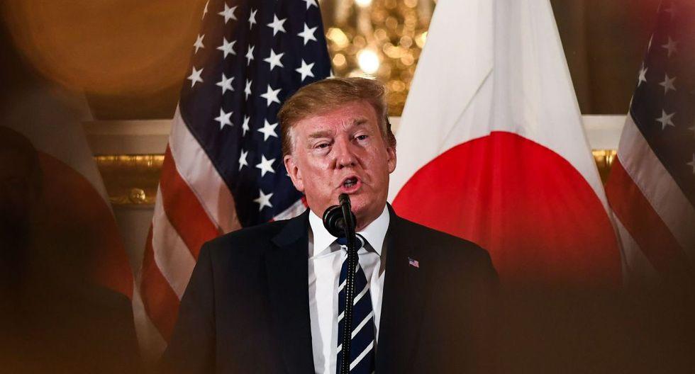 Abe estuvo recientemente en Washington, y Trump retornará a Tokio en poco más de un mes para participar en la cumbre del G20 en la ciudad de Osaka. (Foto: AFP)