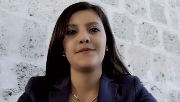 Yamila Osorio fue elegida gobernadora regional de Arequipa en los comicios celebrados el año pasado. (Foto referencial / Archivo El Comercio)
