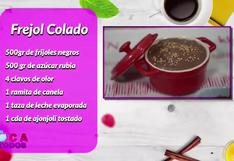Receta de tradicional frejol colado peruano