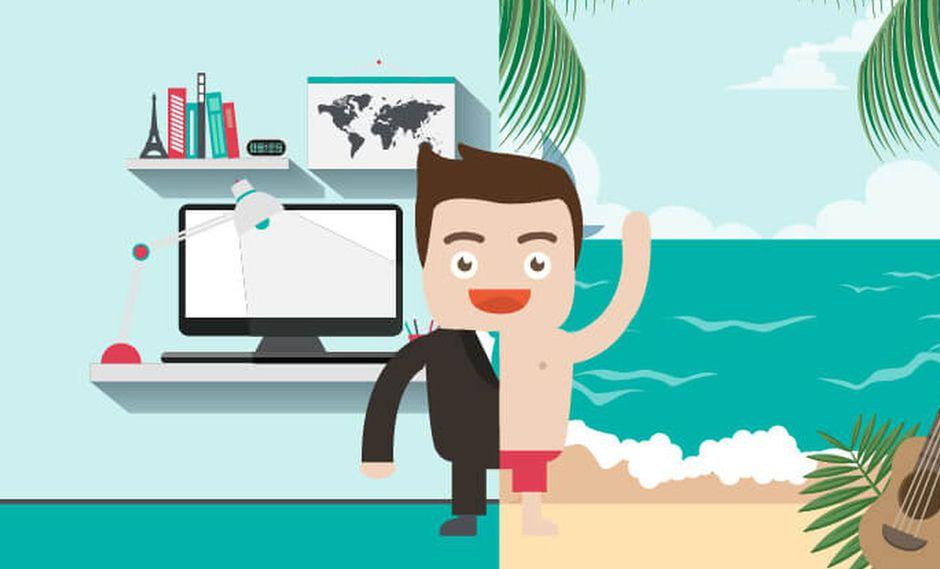 Dado el enorme esfuerzo que muchos realizan durante sus jornadas laborales, es realmente necesario tomarse el derecho de unas largas vacaciones. (Foto: Shutterstock)