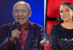 """""""La Voz Senior"""" vivió un divertido momento: concursante fue elegido por Daniela Darcourt pero él agradece a Tony Succar"""