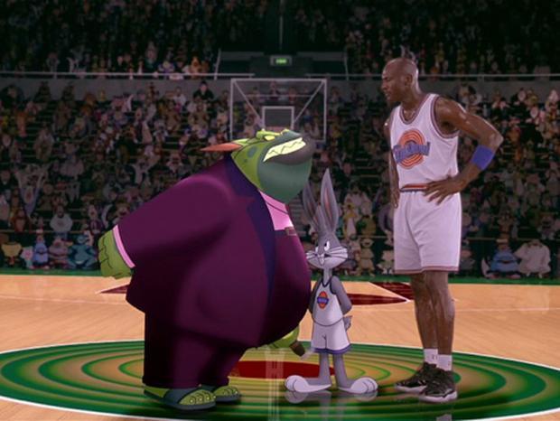 Mr. Swackhamer, Bugs Bunny and Michael Jordan.