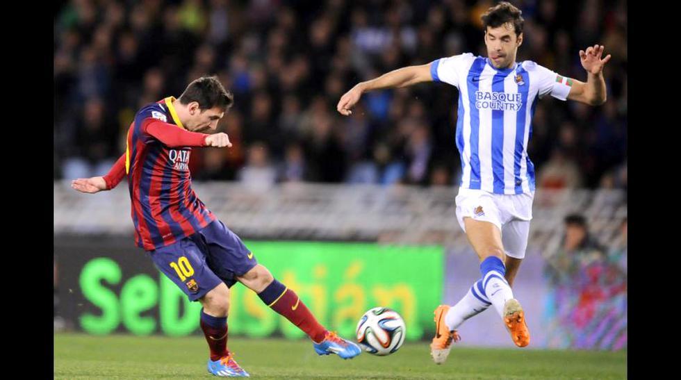 El gol de Messi y lo mejor del Barcelona-Real Sociedad en fotos - 1