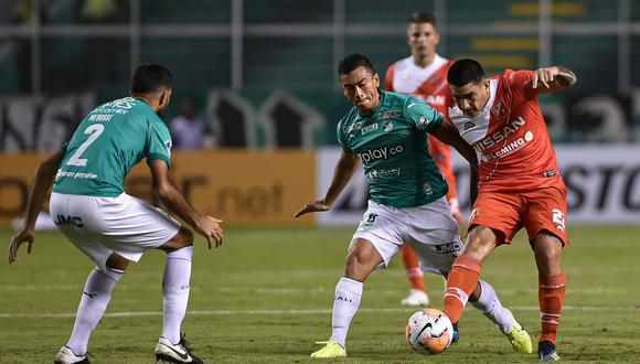 Deportivo Cali venció 2-1 a River Plate de Paraguay por la primera ronda de la Copa Sudamericana 2020 [Foto: AFP]