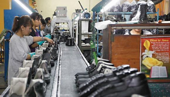 La exportación de calzado peruano se recupera. (Foto: GEC)