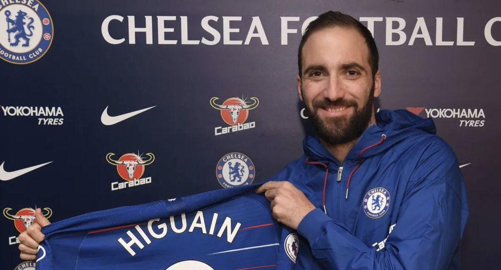 Gonzalo Higuaín emprenderá una nueva aventura en el exterior. El 'Pipita' es el nuevo '9' del Chelsea hasta final de la temporada 2018-19. (Foto: AP)