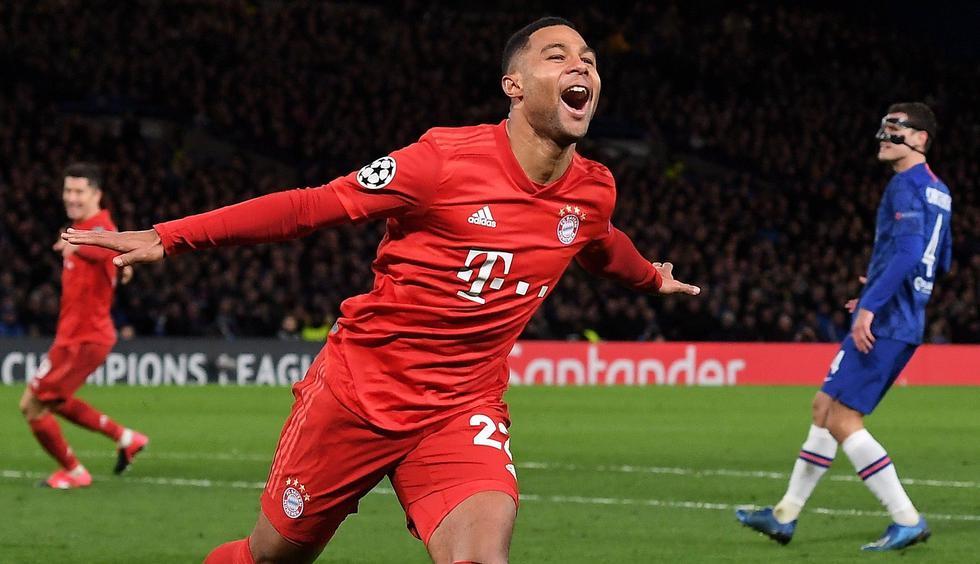 Serge Gnabry  Bayern Munich   6 partidos  6 goles   Foto: EFE