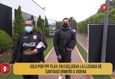 Así fue la llegada de Santiago Ormeño en la Videna | VIDEO