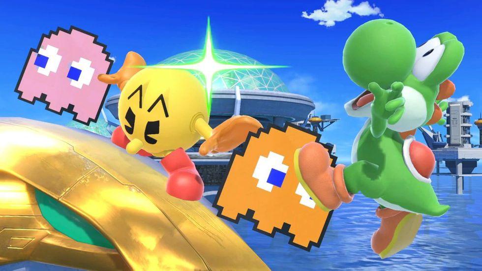 Pac-Man es un peleador en Super Smash Bros. Ultimate. (Foto: Nintendo)