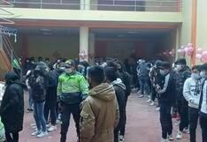 COVID-19: PNP detiene a más de 150 menores y adultos en una fiesta clandestina en Puno | VIDEO