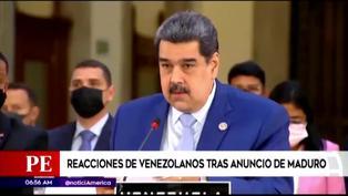 """Venezolanos reaccionan a programa """"Vuelta a la Patria"""" de Nicolás Maduro"""