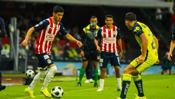 América y Chivas igualaron en el Azteca por el Clásico Nacional.