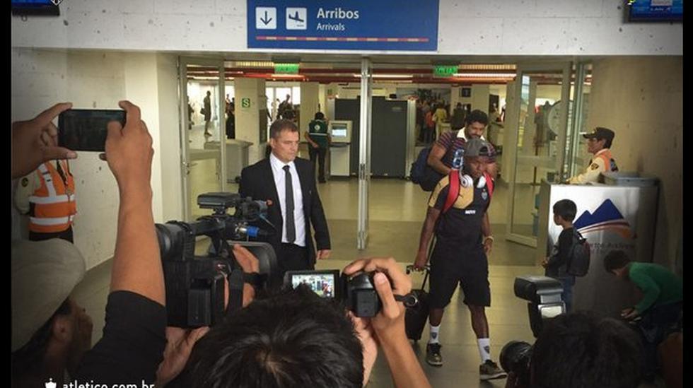 Melgar: Sin Robinho, Atlético Mineiro llegó a Arequipa - 1