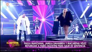 """Fabio Agostini presenta a Paula Manzanal, Jamila Dahabreh y Macarena Vélez como sus refuerzos en """"El Artista del Año"""""""