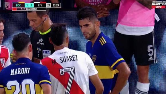 Boca Juniors vs. River Plate: prensa argentina lapidó a Carlos Zambrano por su expulsión en el Superclásico