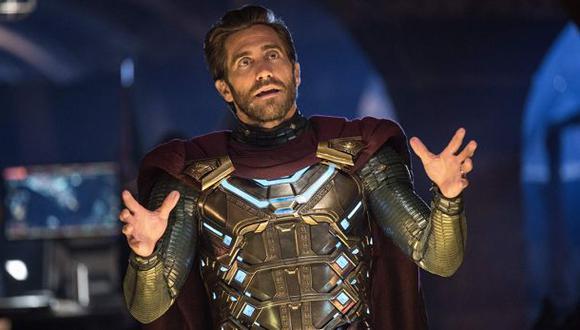 "Jake Gyllenhaal interpreta a Mysterio en ""Spider-Man: Far From Home"" (Foto: Marvel Studios)"