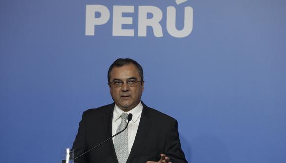 Carlos Oliva fue ministro de Economía desde junio de 2018 hasta setiembre de este año. (Foto: GEC)