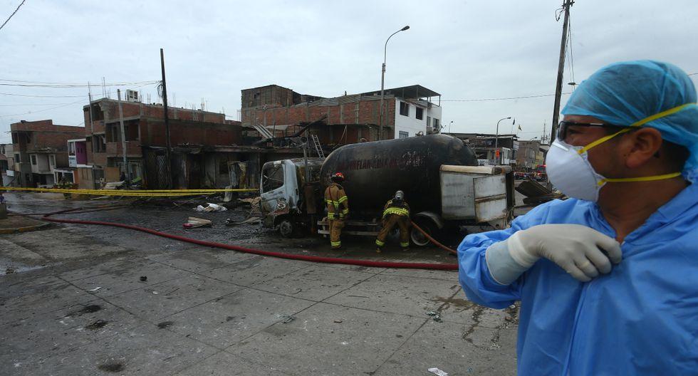 El incendio en Villa El Salvador dejó 30 fallecidos. (Foto: GEC)