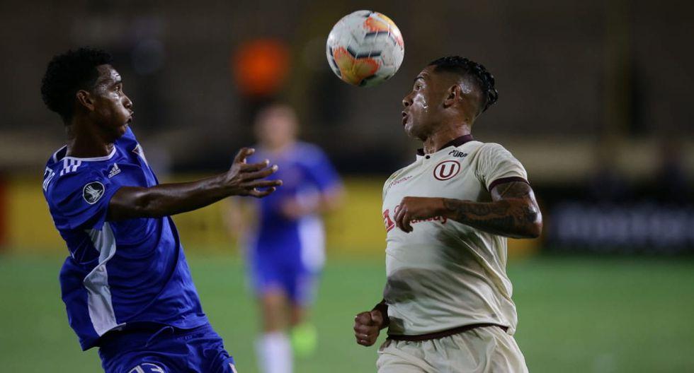 Universitario avanzó a la segunda ronda de la Copa Libertadores tras ganarle en Lima a Carabobo | Foto: Jesús Saucedo