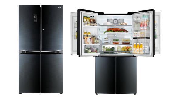 CES 2015: LG presentará refrigerador con doble puerta interior