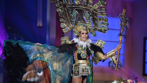 Miss Universo 2015: así lució Jimena Espinosa en la gala previa