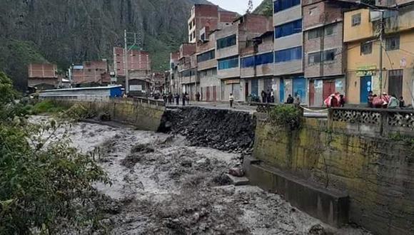 Fuertes lluvias causaron daños en viviendas e infraestructura en Sandia, Puno. (Cortesía: Municipalidad)