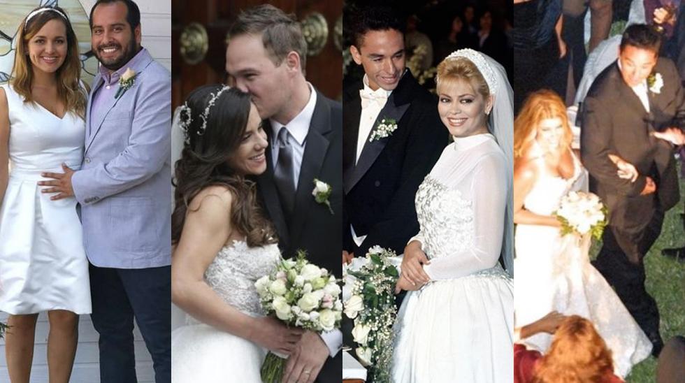 Los matrimonios más efímeros de la farándula nacional |FOTOS (Fotos: USI / Instagram)