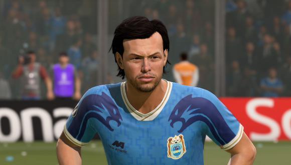Sebastián Gularte de Binacional en FIFA 21. (Captura de pantalla)