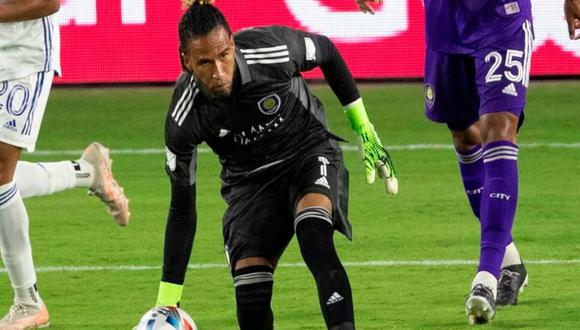 Pedro Gallese se lesionó en el último juego del Orlando City en la MLS | Foto: Difusión.