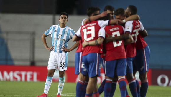 Bergessio anotó el único partido desde el punto de penal. (Foto: AFP)