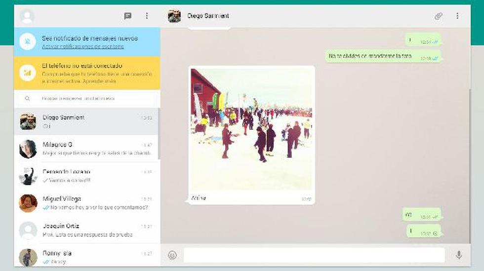WhatsApp en tu PC: te enseñamos a usarlo en pocos pasos (VIDEO) - 1