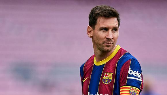 Lionel Messi ganó cuatro Champions League como jugador del Barcelona. (Getty)