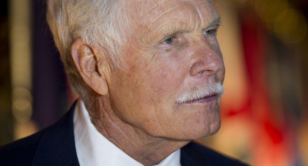 Ted Turner, de 79 años actualmente, no logra recordar a veces el nombre del trastorno que padece. (Foto: AFP)