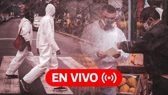 Coronavirus Perú EN VIVO | Últimas noticias, cifras oficiales del Minsa y datos sobre el avance de la pandemia en el país, HOY miércoles 6 de enero de 2021, día 297 de estado de emergencia por el Covid-19. (Foto: Diseño El Comercio)