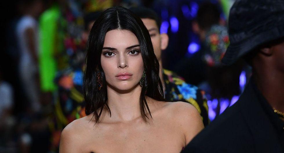 Kendall Jenner inició su carrera como modelo en la empresa Wilhelmina Models a los 14 años. (AFP)