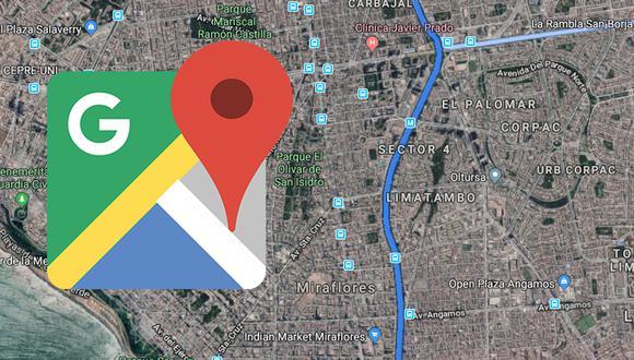Este es el sensacional truco para poder modificar la voz de Google Maps. Te sorprenderá. (Foto: Google)