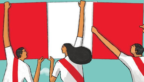 Fiestas Patrias. El origen del nombre Perú está ligada a un conquistador español no tan conocido como Francisco Pizarro. Ilustración: El Comercio.