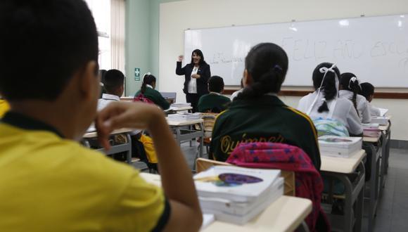 Arequipa: Al menos 5 mil profesores de colegios privados dejaron de laborar por diversos motivos relacionados con la pandemia (Foto Referencial)