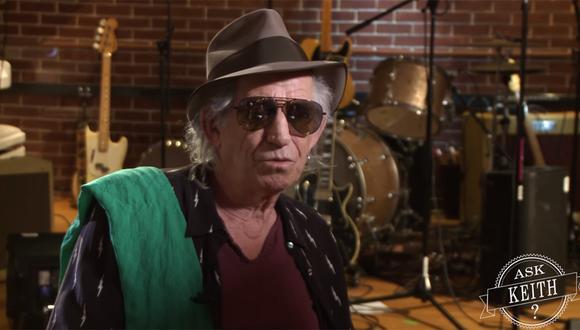 Keith Richards anunció novedades con los Rolling Stones en su canal oficial de YouTube. (Foto: Captura de pantalla)