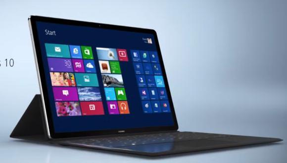 MWC 2016: Huawei lanza el MateBook, su tablet convertible