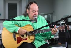"""Litto Nebbia en una sesión acústica desde """"El Comercio"""""""