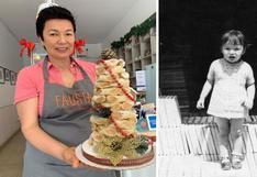 Aprendió de su abuela a preparar postres, y hoy esa niña tiene Fausta, la nostálgica pastelería de Lima