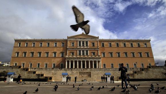 Parlamento de Atenas, Grecia. (Foto: EFE)