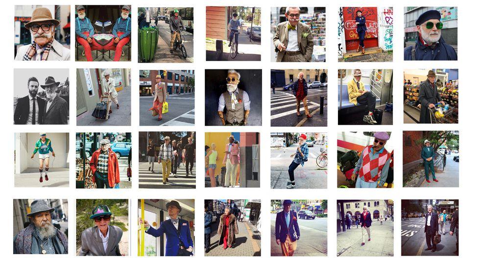 Fashion Grandpas, el Instagram de los abuelos fashion