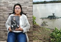 Cusco: madre de capitán desaparecido pide a ministra Nuria Esparch intensificar la búsqueda de su hijo | VIDEO