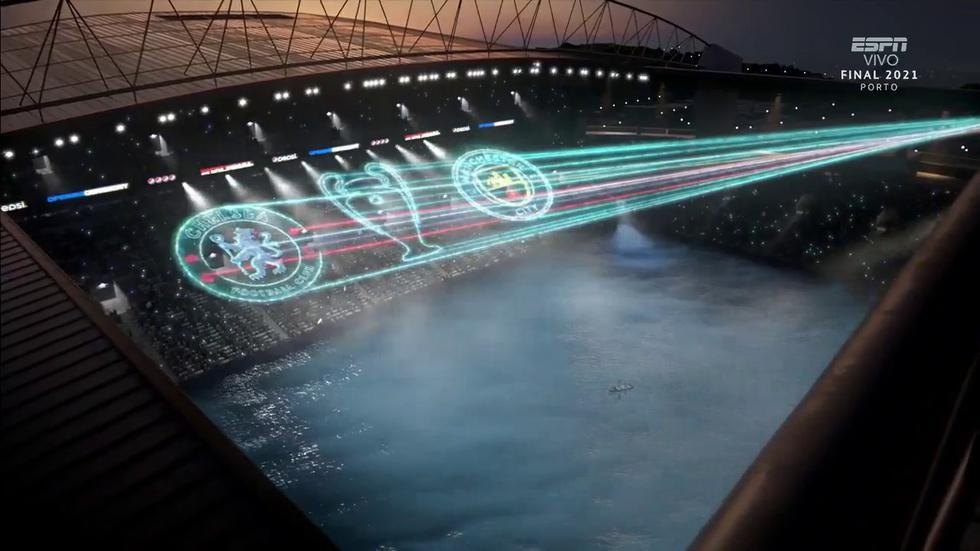 Manchester City se enfrenta a Chelsea por la final de la Champions League 2020-21. (Foto: Twitter)